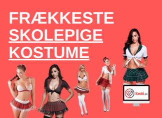 frækkeste skolepige kostume