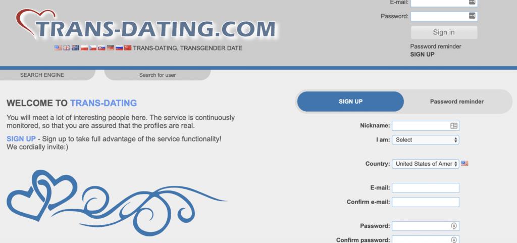 international Transdating