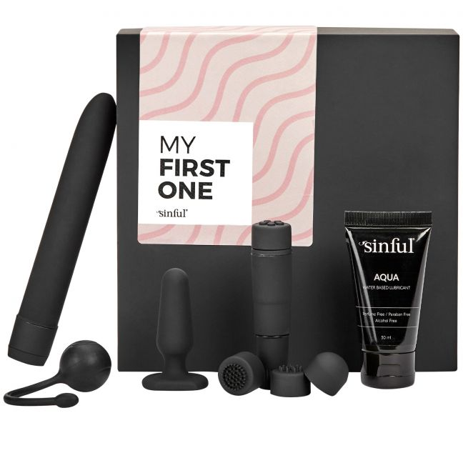 dildo sæt sinful my first one