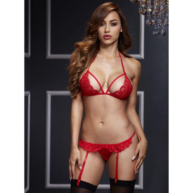 rød sex bh