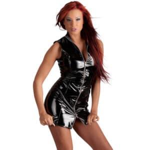 black level lack mini dress