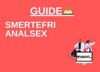 smertefri analsex guide