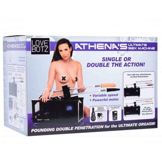 LoveBotz Athenas Double Penetration Sexmaskine indpakning