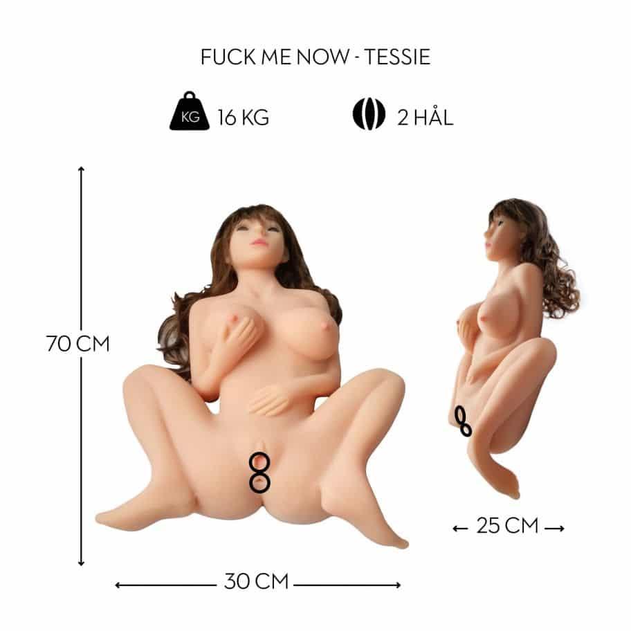 Tessie - den kåde sexdukke TESSIE - DEN KÅDE SEXDUKKE