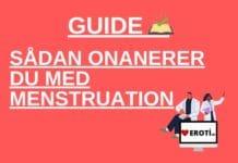 15 grunde til du godt kan onanere selvom du har menstruation