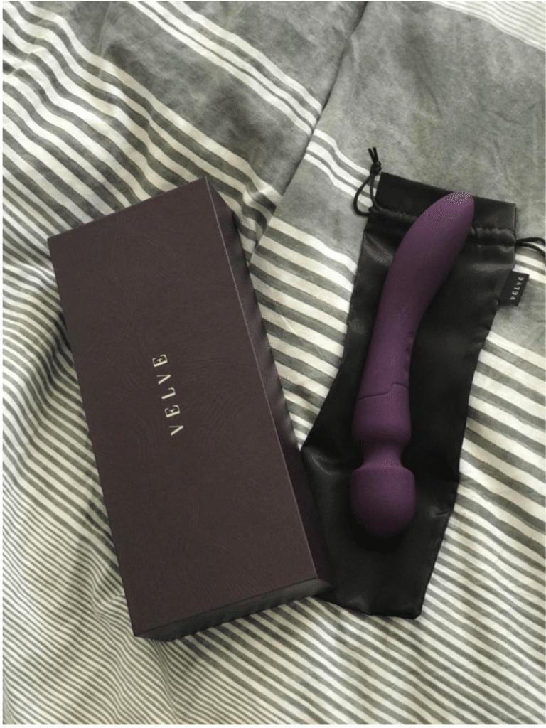 Velve macy luksus magic wand vibrator