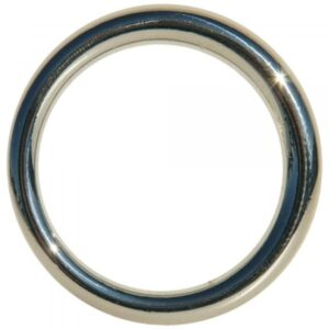 EDGE SEAMLESS METAL RING 3,8 CM