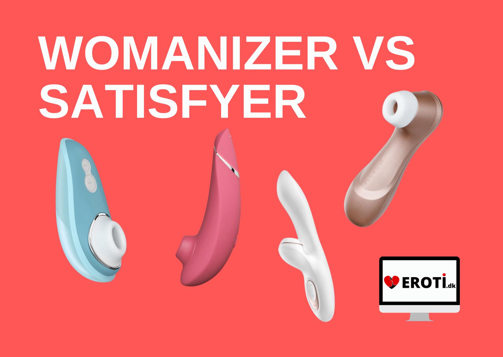Womanizer vs Satisfyer