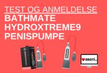 Bathmate HydroXtreme9 penispumpe