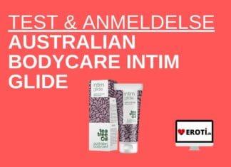 test & anmeldelse Australian Bodycare Intim glide