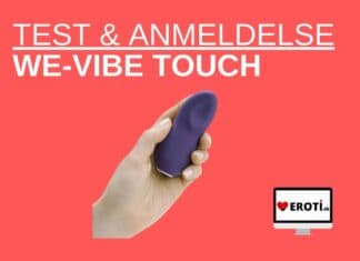anmeldelse We-Vibe Touch
