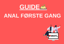 Guide anal første gang