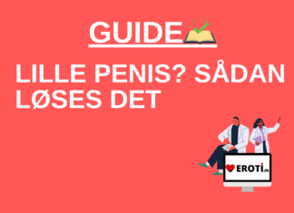 Lille penis sådan løses det