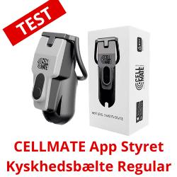 CELLMATE App Styret Kyskhedsbælte Regular