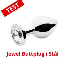 jewel buttplug i stål
