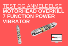 Motörhead Overkill 7 Function Power Vibrator