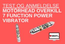 Motörhead Overkill 7 Function Power Vibrator