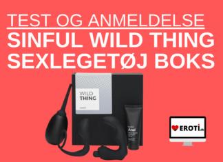 Sinful Wild Thing Sexlegetøj Boks