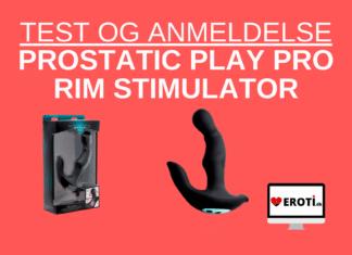 Prostatic Play Pro Rim anmeldelse